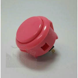 BOTON SANWA OBSF30  ROSA