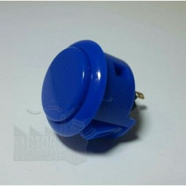 "BOTON SANWA OBSF30 AZUL ""ROYAL BLUE"""