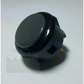 BOTON SANWA OBSF30 GRIS / NEGRO