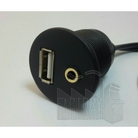 CABLE PASAMUROS INCORPORADO USB / AUDIO