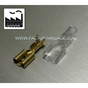 CONESTRO FASTON 6,3mm FUNDA SILICONA X 10