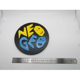 CARTEL LOGO IMPRESION 3D NEO GEO