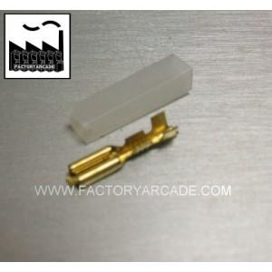 CONECTOR FASTON 2,8mm MAS FUNDA