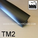 T-MOLDING  NEGRO LISO 20mm  TM2