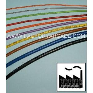 CABLE COLORES SECCION 0.25  1 METRO