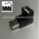 ACODADO USB